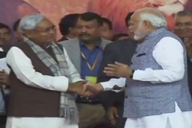 vijay rupani, nitish kumar, narendra modi, nitish kumar narendra modi bonhomie, 2019 general elections, vijay rupani gujarat cm