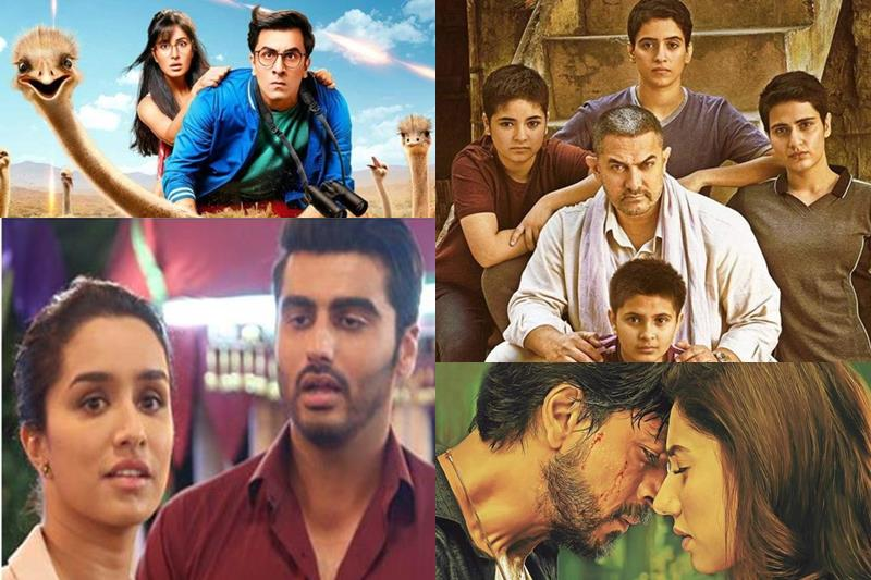 Pakistan, Bollywood, Shahrukh Khan, Aamir Khan, Ranbir kapoor, katrina kaif, Google search in 2017, Indian movies, Pakistani fans, Dangal, Raees, Half Girlfriend, Jagga Jasoos