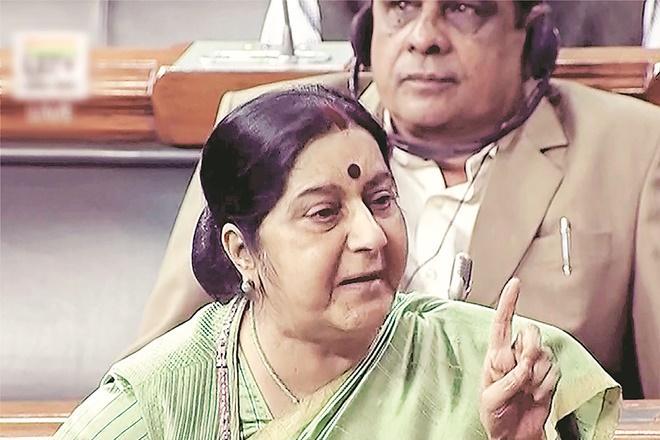 Pakistan,Kulbhushan Jadhav, jadhav wife, jadhav mother, sushma swaraj, parliament