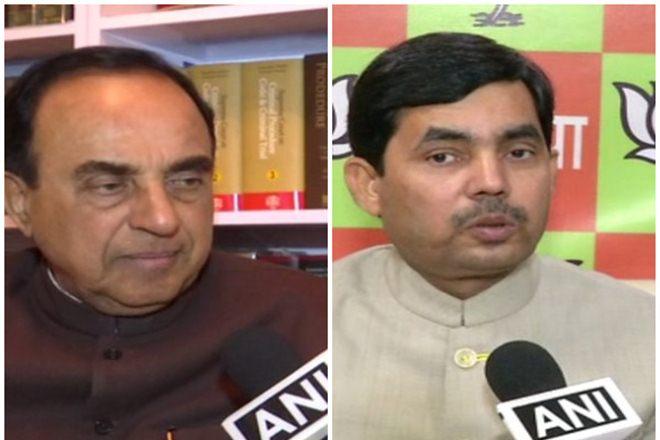 BJP,Triple Talaq Bill,Subramanian Swamy,Shahnawaz Hussain,Bharatiya Janata Party,Constitution