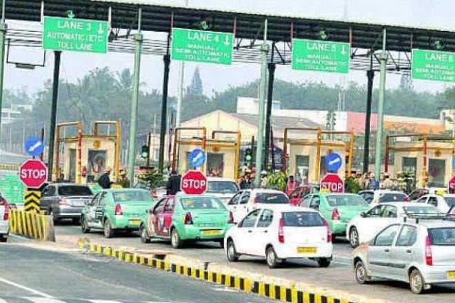 electronic toll payments , toll digital payments, toll cashless route, Demonetisation