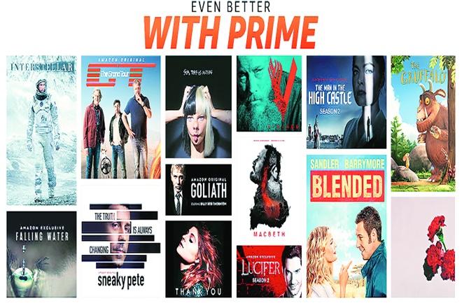 Netflix, Hotstar, Amazon