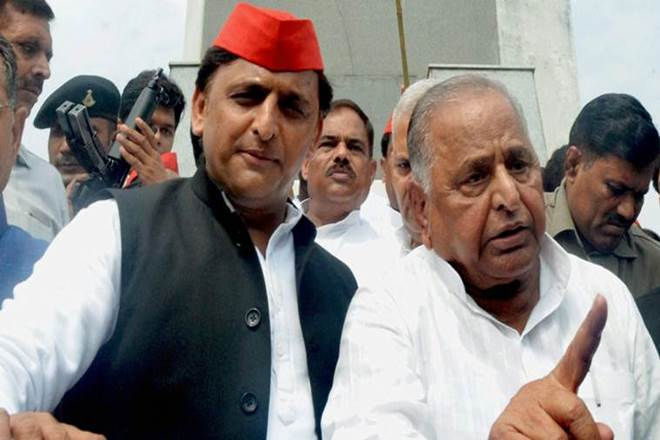 Mulayam Singh Yadav, Akhilesh Yadav, Samajwadi Party Yogi Adityanath, BJP, Uttar Pradesh, Dumping potatoes, farmers