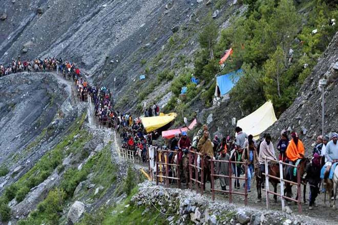 Amarnath shrine, pilgrims atAmarnath shrine,Amarnath shrine pilgrims, jammu and kashmir assembly, bali bhagat, kashmir himlayas, amarnathpilgrims