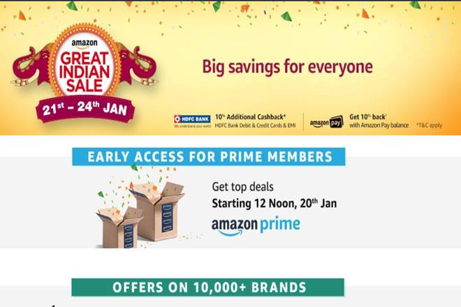 Amazon Great Indian sale, Amazon Great Indian sale offers, Amazon Great Indian sale deals, Amazon Great Indian sale discounts, Amazon Great Indian sale live, Amazon Great Indian sale toady, amazon offers, amazon sale, amazon deals, amazon discounts, amazon news