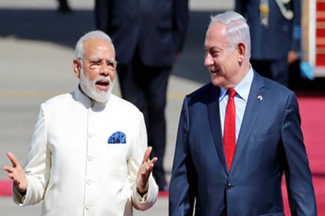 Israeli PM Benjamin Netanyahu, Benjamin Netanyahu,Narendra Modi, Gal Mobile water, Modi