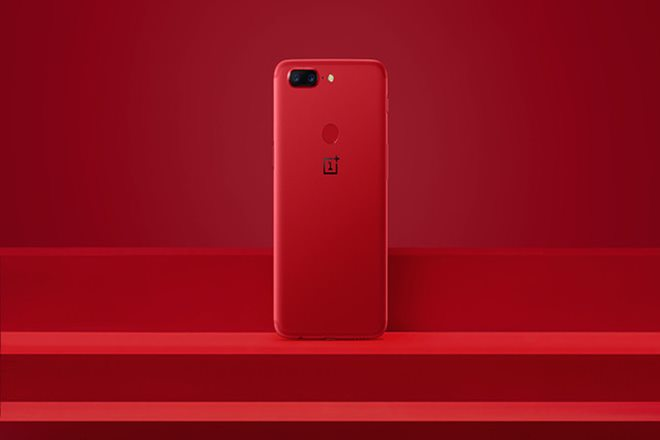 OnePlus 5T Lava Red Edition,