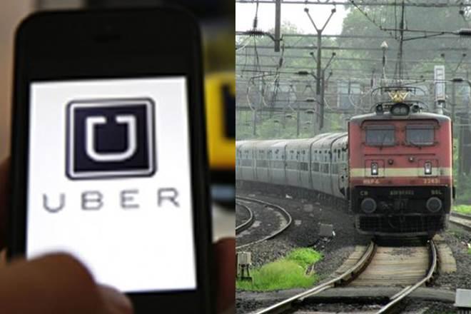Uber, Eastern Railway, Uber app, Howrah station, railway terminals, Kolkata