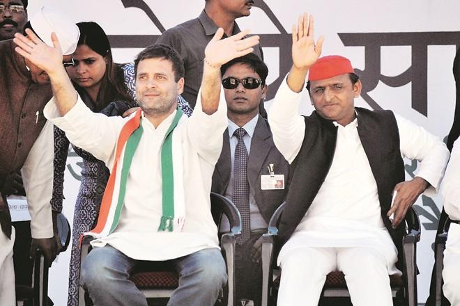 akhilesh yadav, rahul gandhi, bjp. congress, narendra modi, yogi adityanath, samajwadi party, general elections 2019