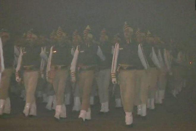 Republic Day, Republic Day 2018, Indian Army, Soldiers, Indian Army rehearsal,Indian Army rehearsalparade,Indira Gandhi International Airport, igi,railway, railway stations