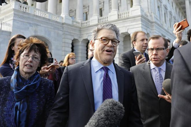 Al Franken, US Senator, sexual harassment claims , Al Franken resigns, sexual misconduct allegations, t