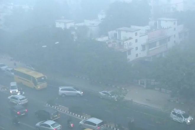 delhi pollution, delhi air quality today, delhi air today, fog in delhi today, India Meteorological Department