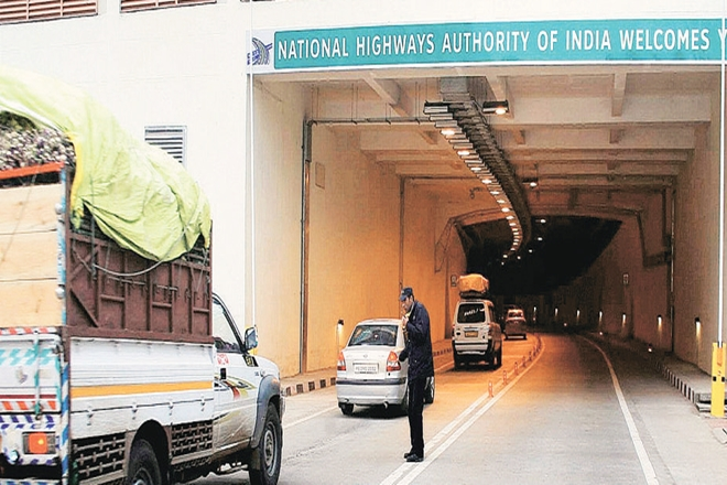 ITNL, CPPIB, Canadian pension fund, Jammu & Kashmir, NHAI, India longest road tunnel, Karunakaran Ramchand