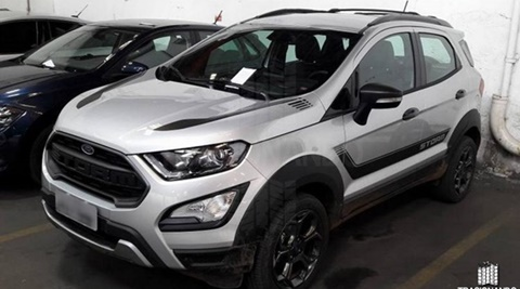 Ford EcoSport Storm interior front revealed in images