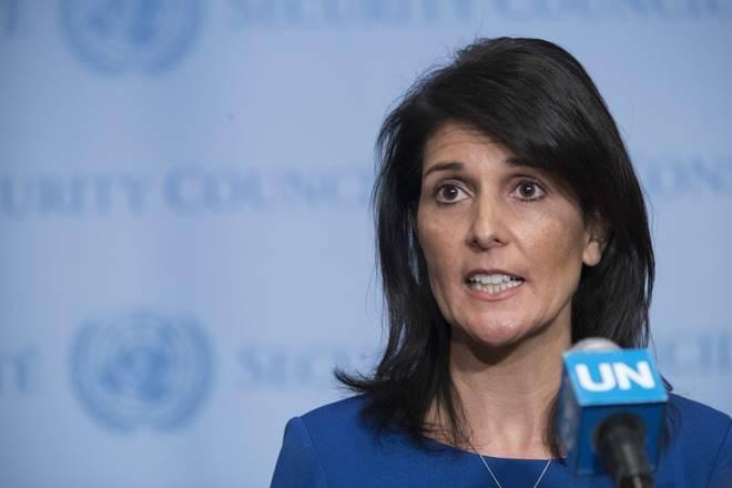 Nikki Haley, Larry Kudlow, United Nations,Russia sanctions, trump administration, donald trump