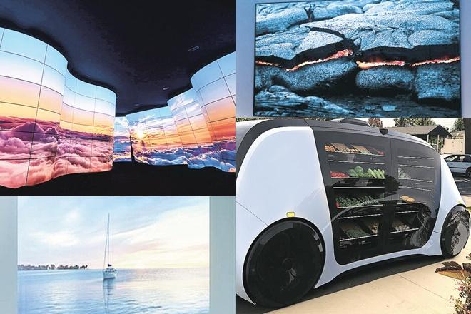 CES 2018,Consumer Electronics Show,Google,hardware,robots,global markets,Samsung,MicroLED,LG,Robomart,Asimo humanoid robot,Asimo, humanoid robot