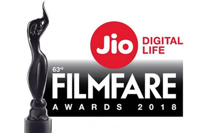 Filmfare awards 2018 live coverage