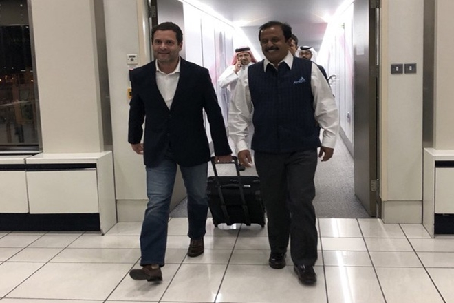 Raul Gandhi in Bahrain, rahul gandhi, congress president, latest news on rahul gandhi bahrain visit, latest upadates on rahul gandhi , GOPIO,King Hamas bin Isa Al Khalifa,Kingdom of Bahrain, NRI conclave in bahrian, manama