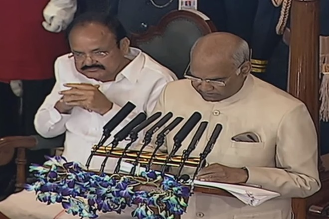 president ram nath kovind budget session speech