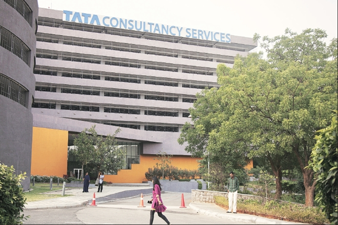 TCS stock rating,Tata Consultancy Services,BFSI,YTD,IT services firm,M&G Prudential, india,US,European savings