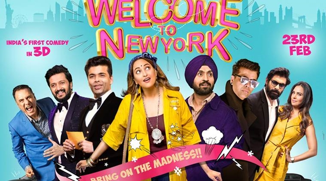 Welcome to new york, Welcome to new york song, Welcome to new york ishtehaar, Welcome to new york movie download, Welcome to new york movie, Welcome to new york trailer, Welcome to new york lyrics, Welcome to new york film, Welcome to new york hindi movie,Welcome to new york release date, pyar ka panchnama, sonakshi sinha, karan johar, diljit dosanjh, sonu ke titu ki sweety