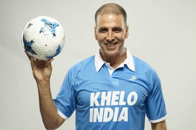 akshay kumar, akshay kumar kehlo india, khelo india games, khelo india school games, akshay kumar lends support to khelo india games, padman, padman actor, sports news