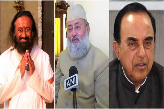 Ayodhya Babri Masjid case: Sri Sri Ravi Shankar tries out of court settlement