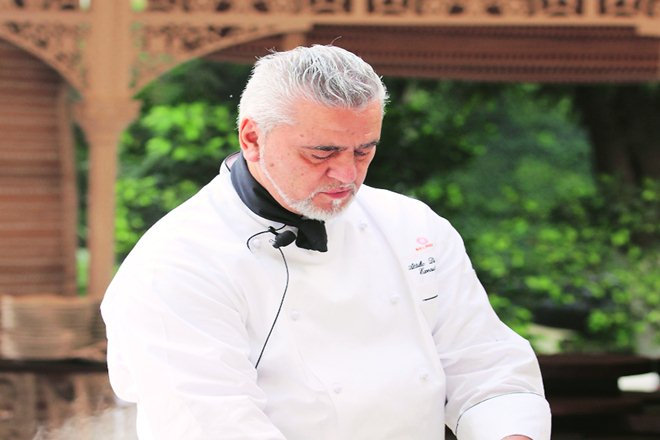 Attilio Di Fabrizio, executive chef of Belmond Villa San MicheleAttilio Di Fabrizio, Florence, US,chef, famous cheff in india
