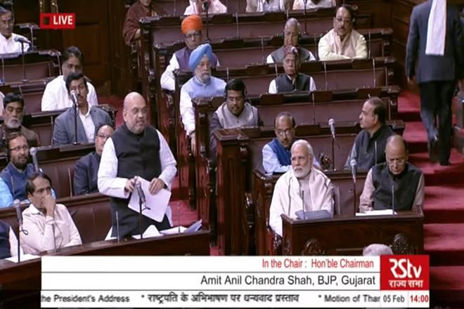 Amit Shah in Rajya Sabha: Amit Shah reacts sharply to Congress' 'pakoda jibe' on PM Modi
