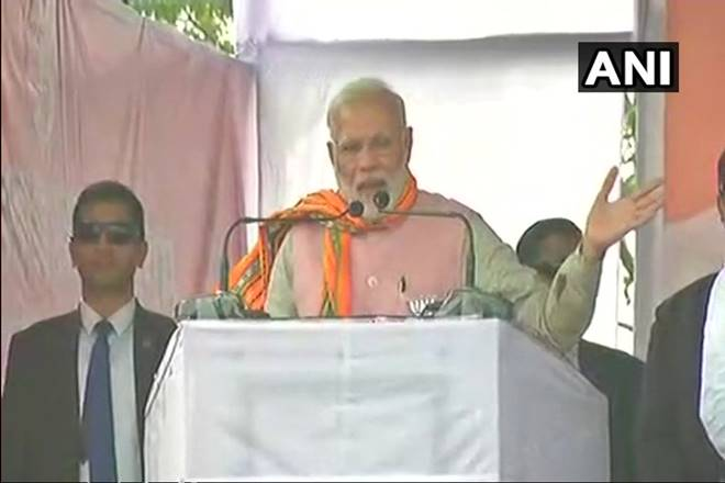 Prime Minister Narendra Modi conducts rallies in Tripura