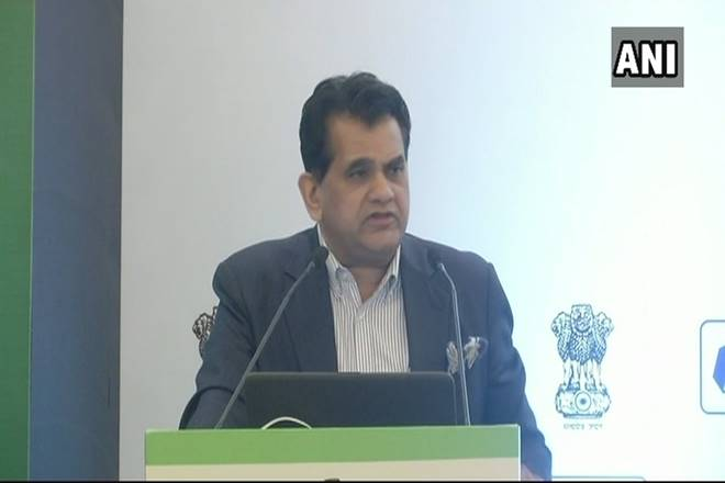 NITI aayog Chairman Amitabh Kant assures a relief from pollution in Delhi due to government schemes
