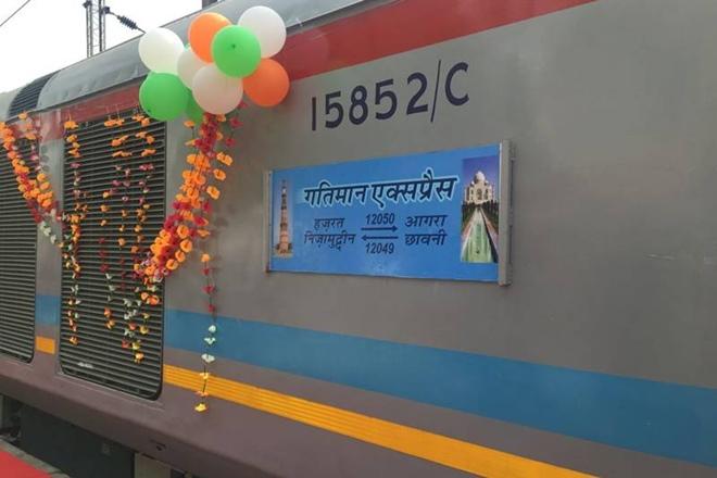 Gatimaan Express has been extended
