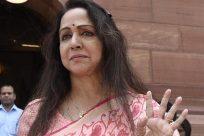 Hema Malini attacks Manik Sarkar government