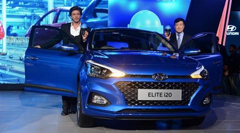 Shahrukh Khan on the launch of Hyundai Swachh Can