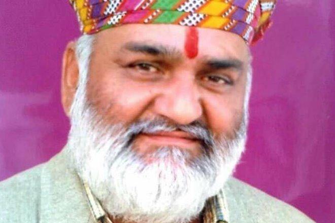 Kalyan Singh, BJP MLA,Nathdwara,Bharatiya Janata Party,Vasundhara Raje