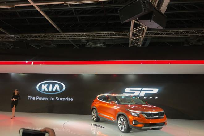 Auto Expo 2018 Kia Motors Is Now In India Unveils Sp Concept Suv