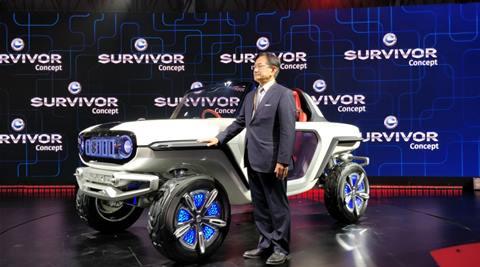 Auto EXPO 2018, Auto expo 2018 Maruti Suzuki e concept , Maruti Suzuki E survivor concept