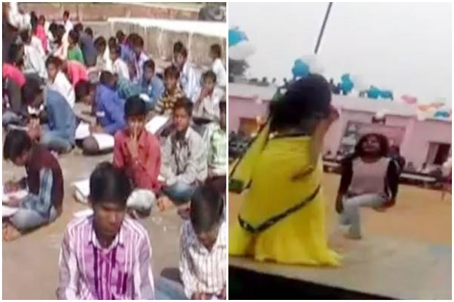 Tikamgarh: MP school turns into a dance floor for bar girls even as students take exams