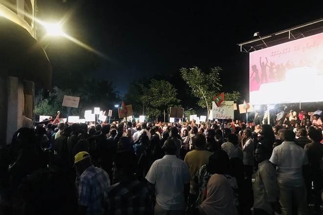 Maldives crisis: National emergency declared