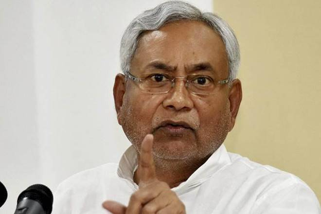 Nitish Kumar said that until such a law is passed in the Parliament, a solid step towards women empowerment cannot be taken. (Image: PTI)