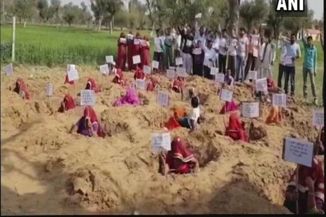 Farmers,Farmers protest,Rajasthan,protest in Rajasthan,Rajasthan's Sikar,