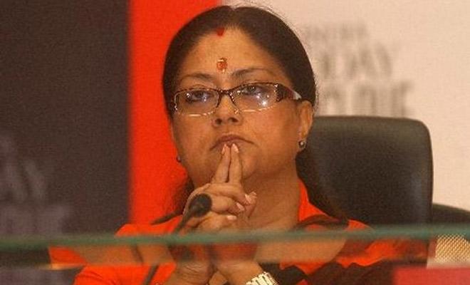 Rajasthan BJP leaders writes Amit Shah to replace Vasundhara Raje
