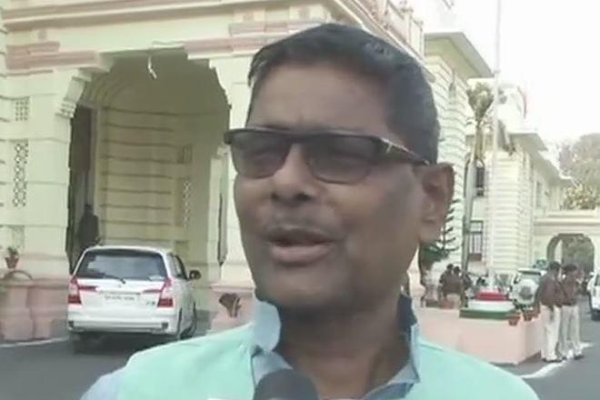 RJD MLA Maheshawar Yadav.