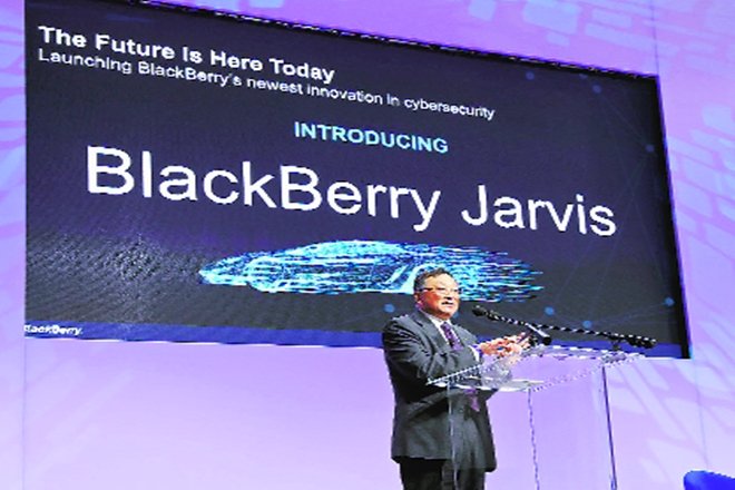 Blackberry Jarvis, Blackberry, industry, smartphone industry, healthcare