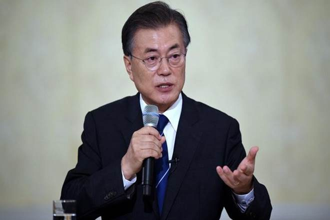 South Korea,Moon Jae-in,North Korea,nuclear weapons,Pyeongchang Winter Olympics