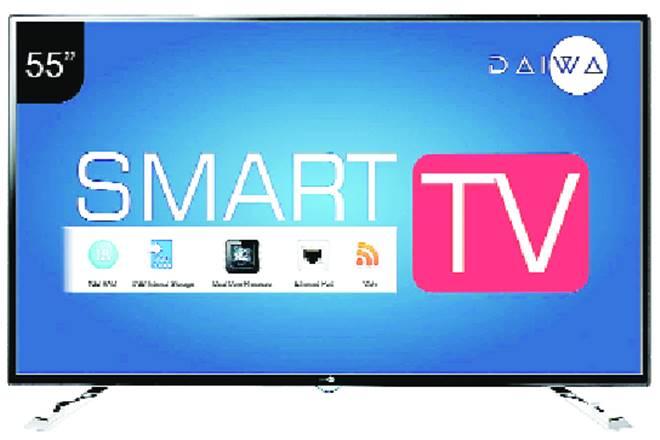 daiwa,Daiwa L55FVC5N Smart TV,Daiwa L55FVC5N Smart TV review,55 inch smart TV, internal storage daiwa, daiwa LED tv