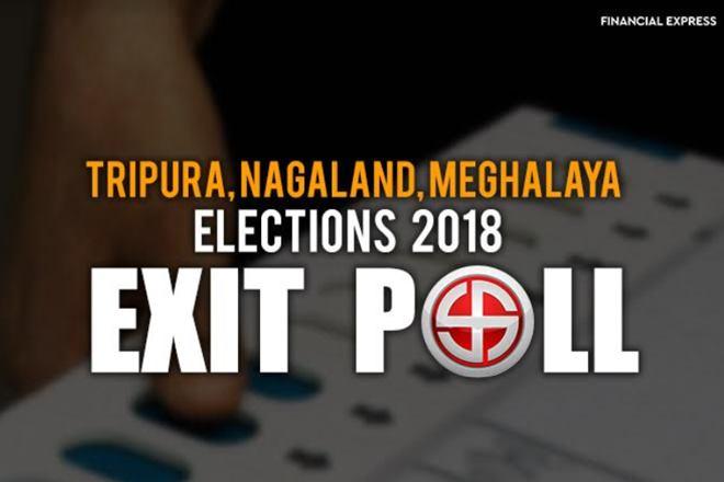 Tripura, Meghalaya, Nagaland Exit Polls