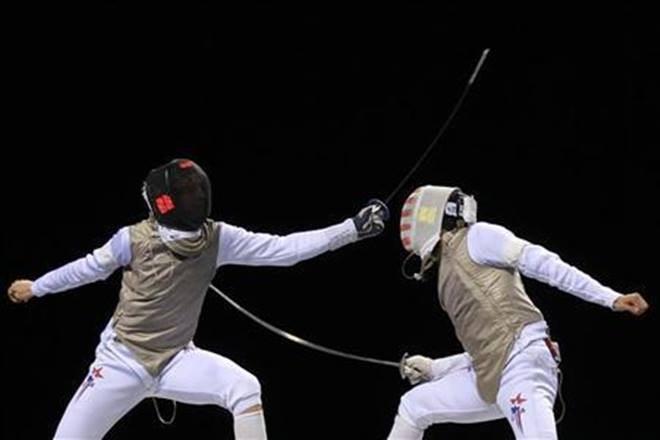fencing , ice hockey, kayaking, surfing, cricket, sports