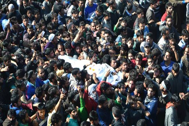 Jammu Kashmir: Grand funeral of militants fuel radicalisation, says report