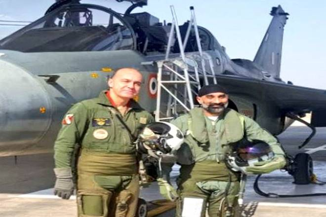 French Air Force Chief takes a sortie in indigeniously built Tejas